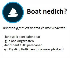 Bootnodig boot huren